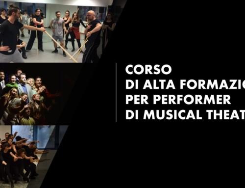 Graduatoria Corso di Alta Formazione per Performer di Musical Theater